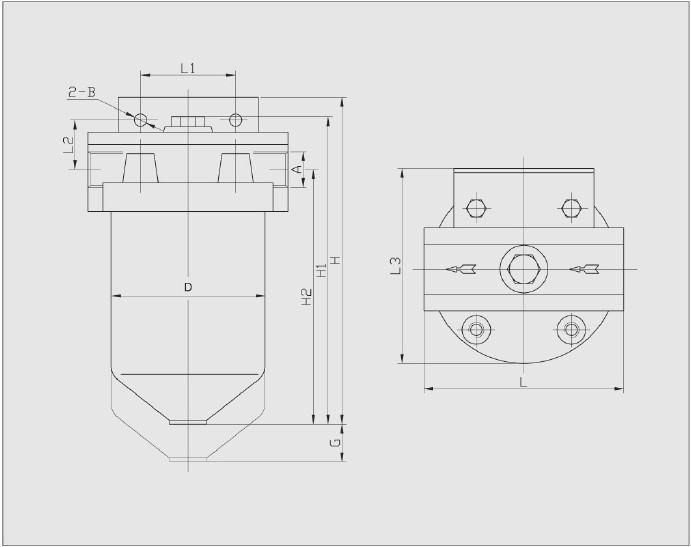 pla系列压力管路过滤器